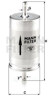 Polttoainesuodatin MANN-FILTER WK 410
