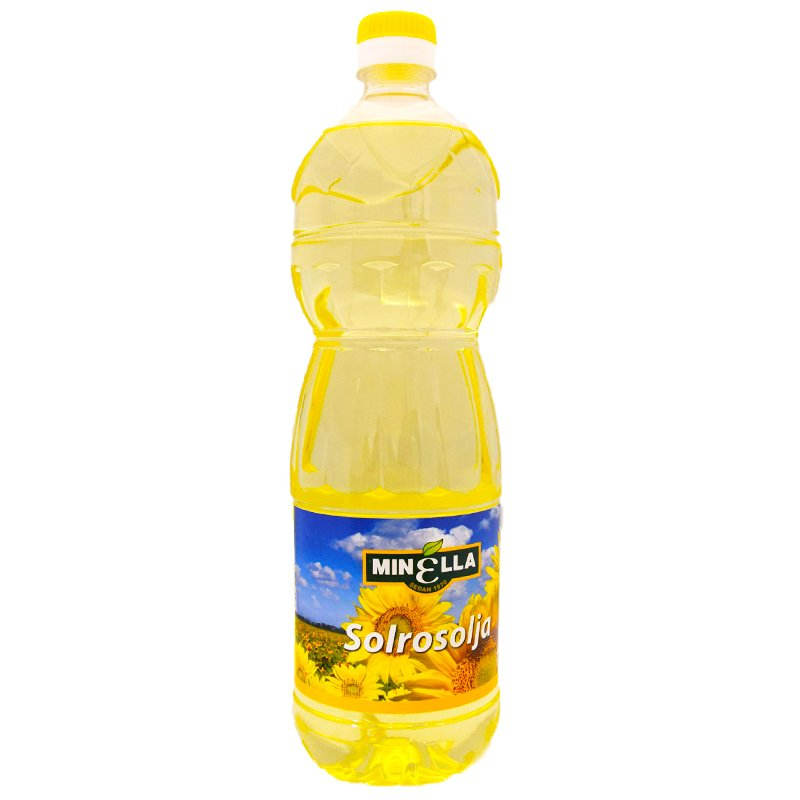 Auringonkukkaöljy 1l - 40% alennus