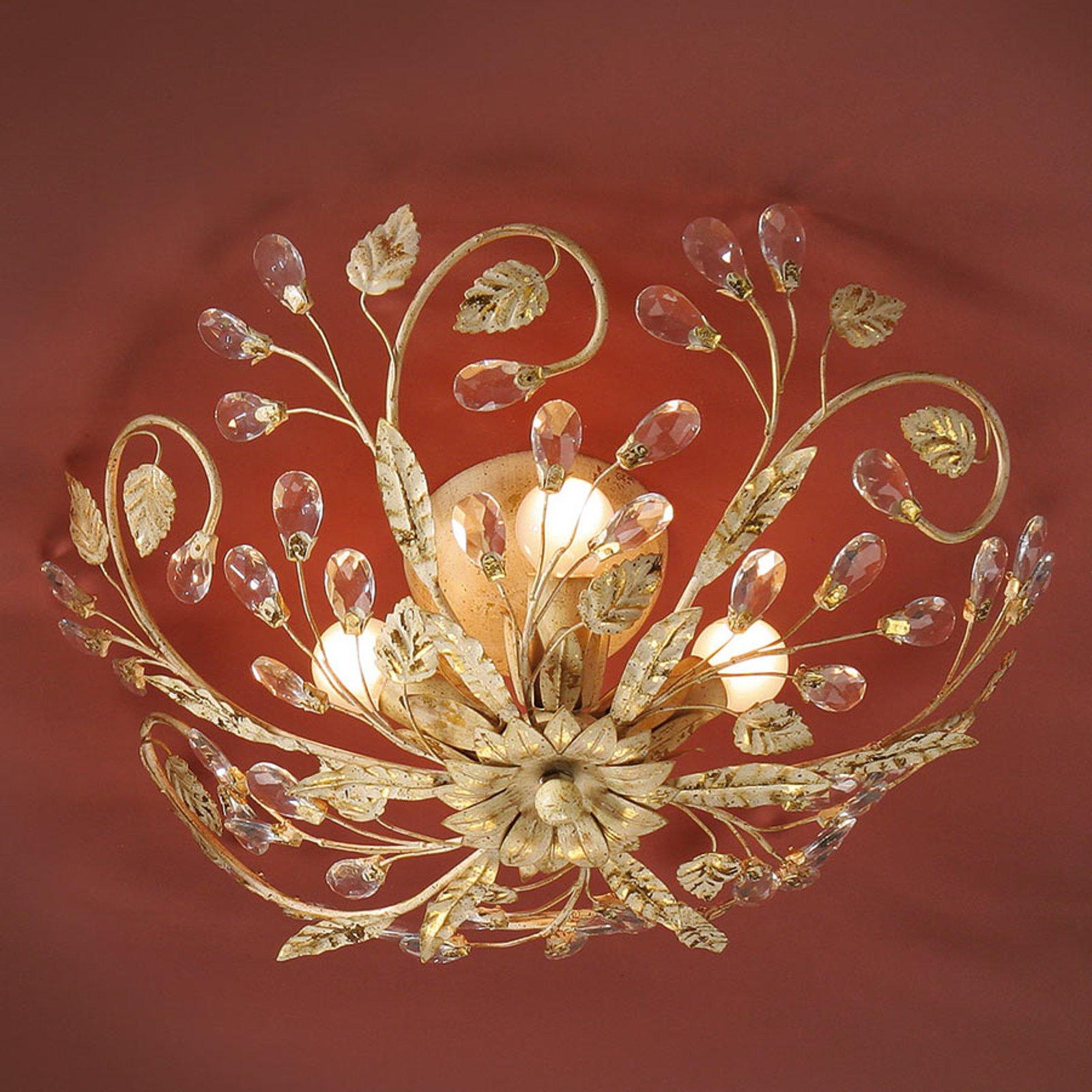 Taklampe Verdi i florentiner-stil med LED