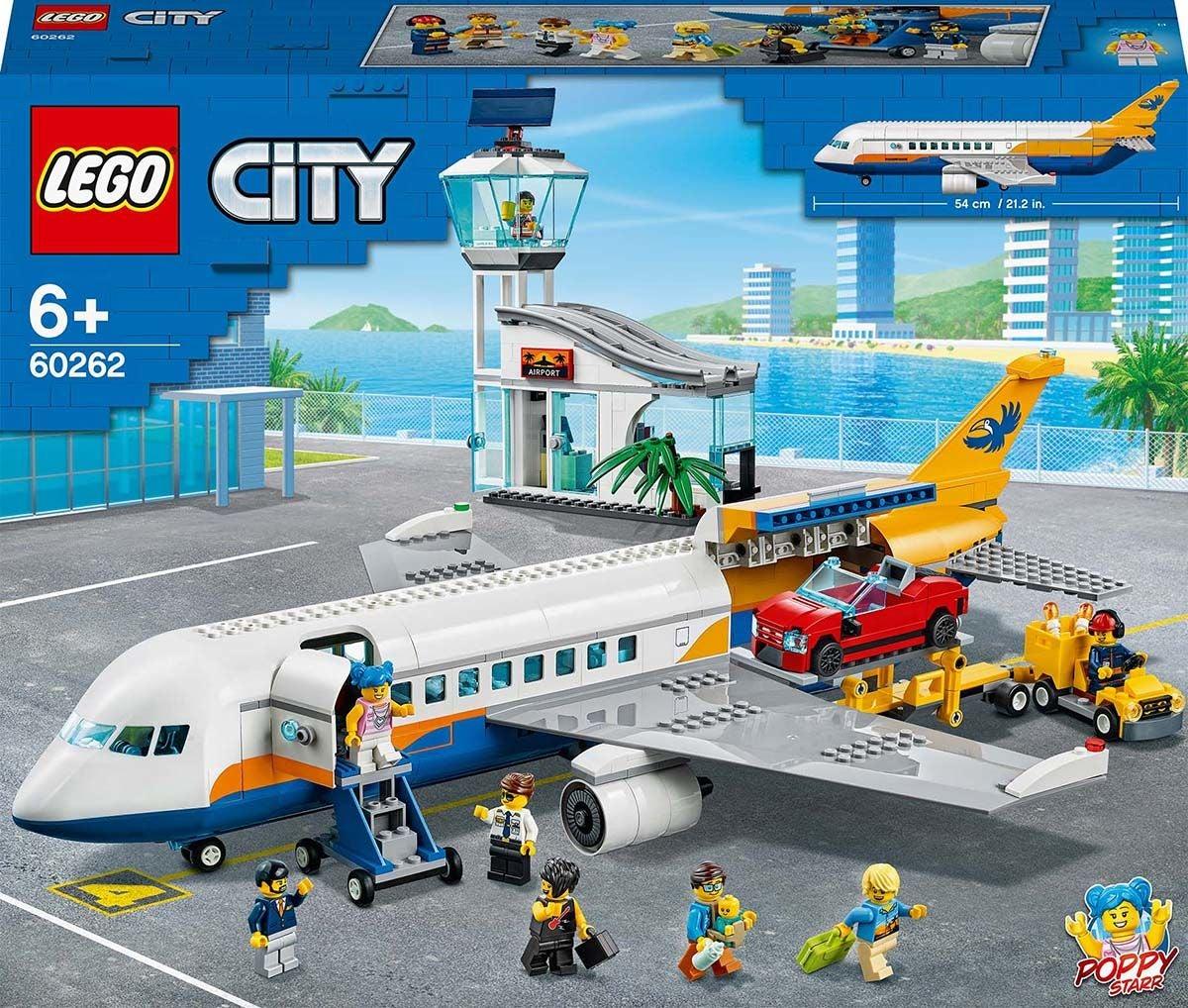 LEGO City Airport 60262 Matkustajalentokone