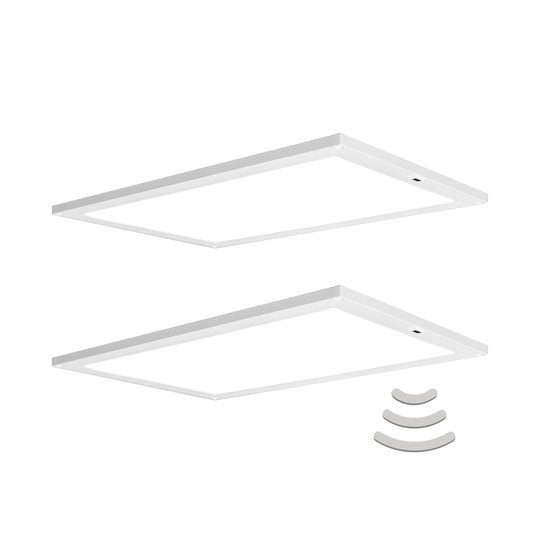 LEDVANCE Cabinet Panel -kaapinalusvalo 30x20cm x2