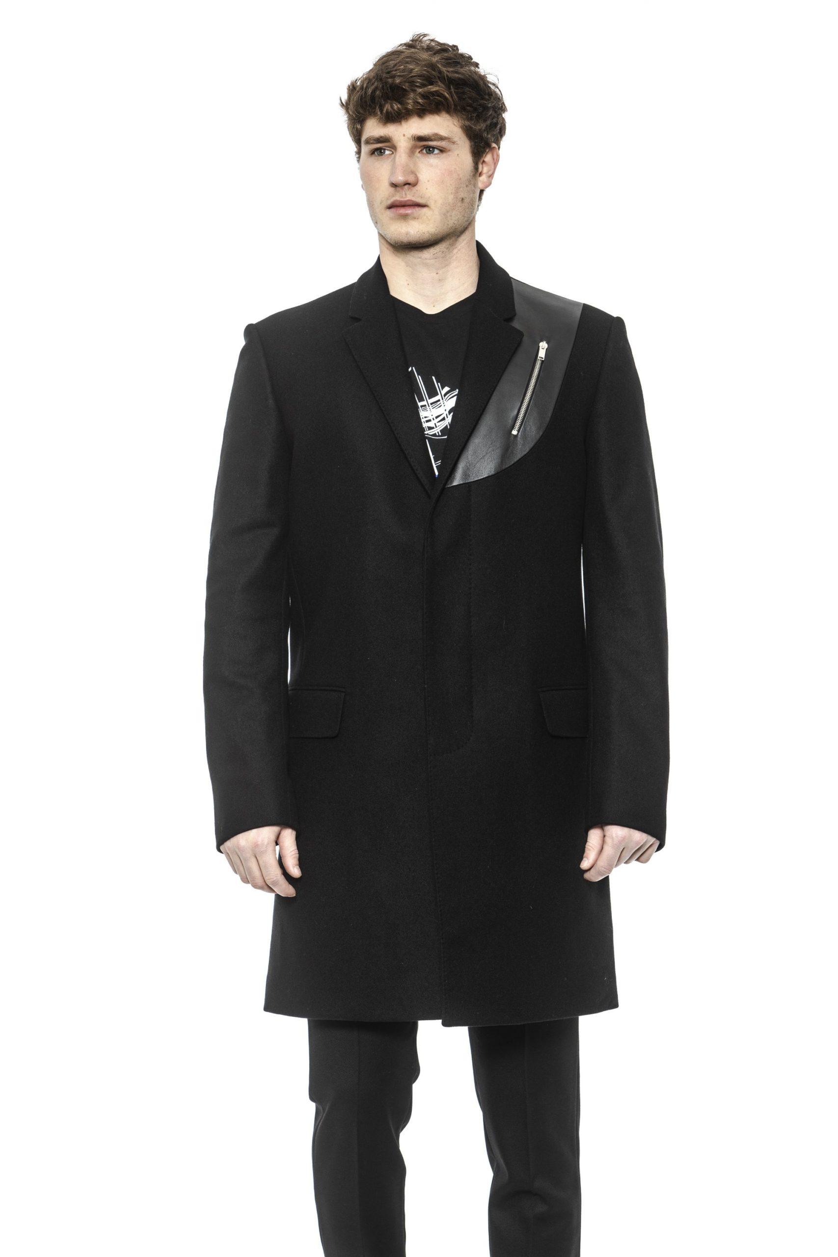 Les Hommes Men's Coat Black LE1393416 - IT50 | L