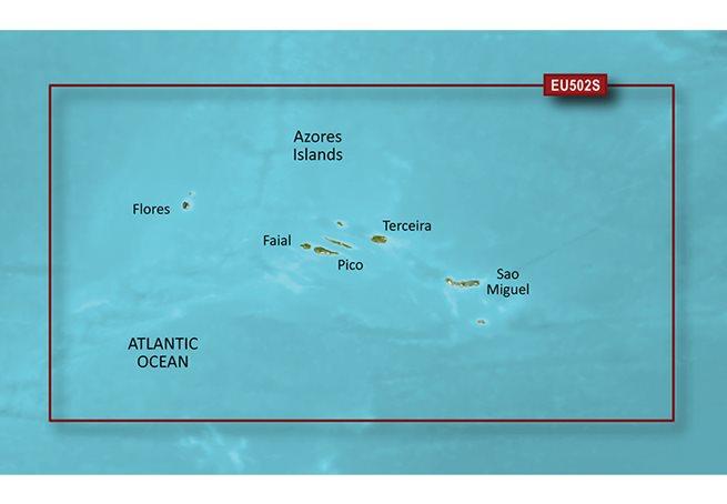 Garmin Azores Islands Garmin microSD™/SD™ card: VEU502S