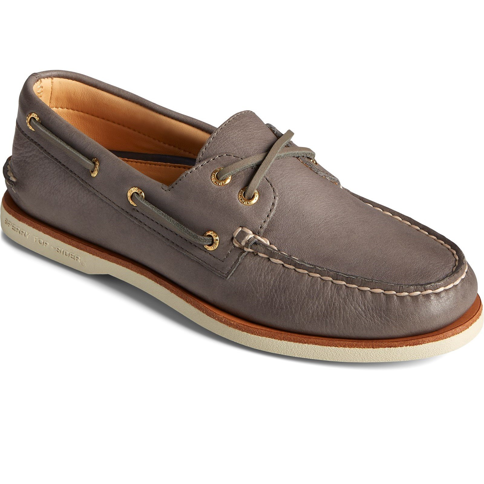 Sperry Men's A/O 2-Eye Boat Shoe Various Colours 32926 - Charcoal 8