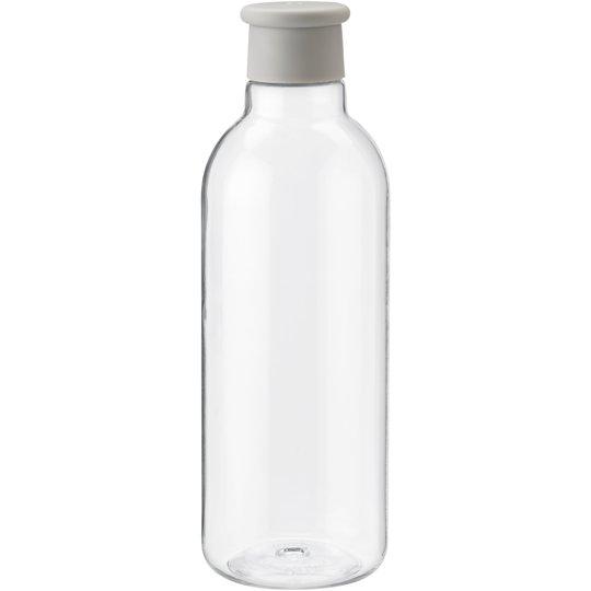RIG-TIG DRINK-IT Vattenflaska 0,75 liter ljusgrå