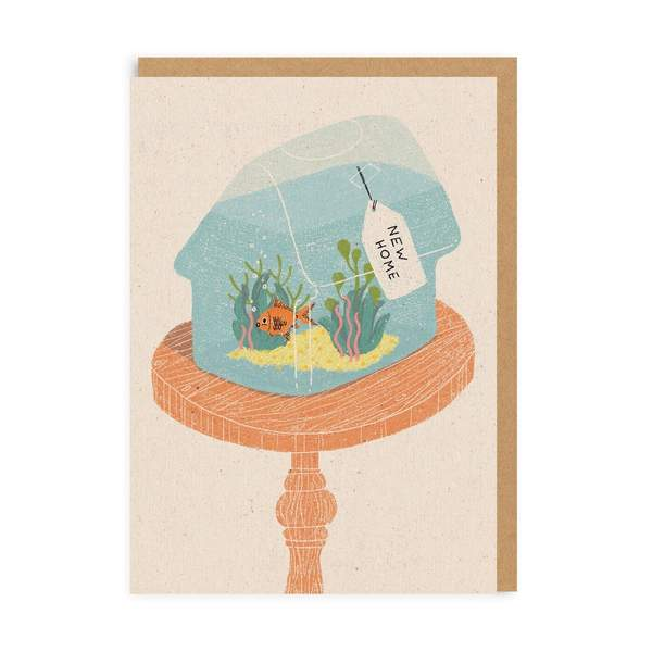 Fish Bowl New Home Card