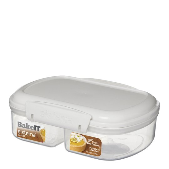 Sistema - Bake It Split Förvaringslåda 630 ml