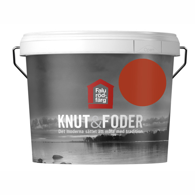 FALU RÖDFÄRG KNUT&FODER RÖD 3L