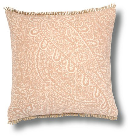 Paisley pute 50x50 – Dusty pink