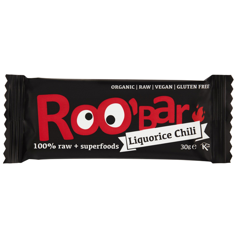 "Rawbar ""Liquorice & Chili"" 30g - 56% rabatt"