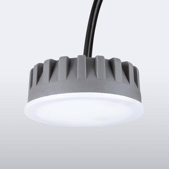 Himmennys-LED-moduuli Coin Slim uppokohdevaloon