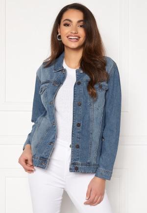 Noisy May Ole L/S Med Denim Jacket Medium Blue Denim S