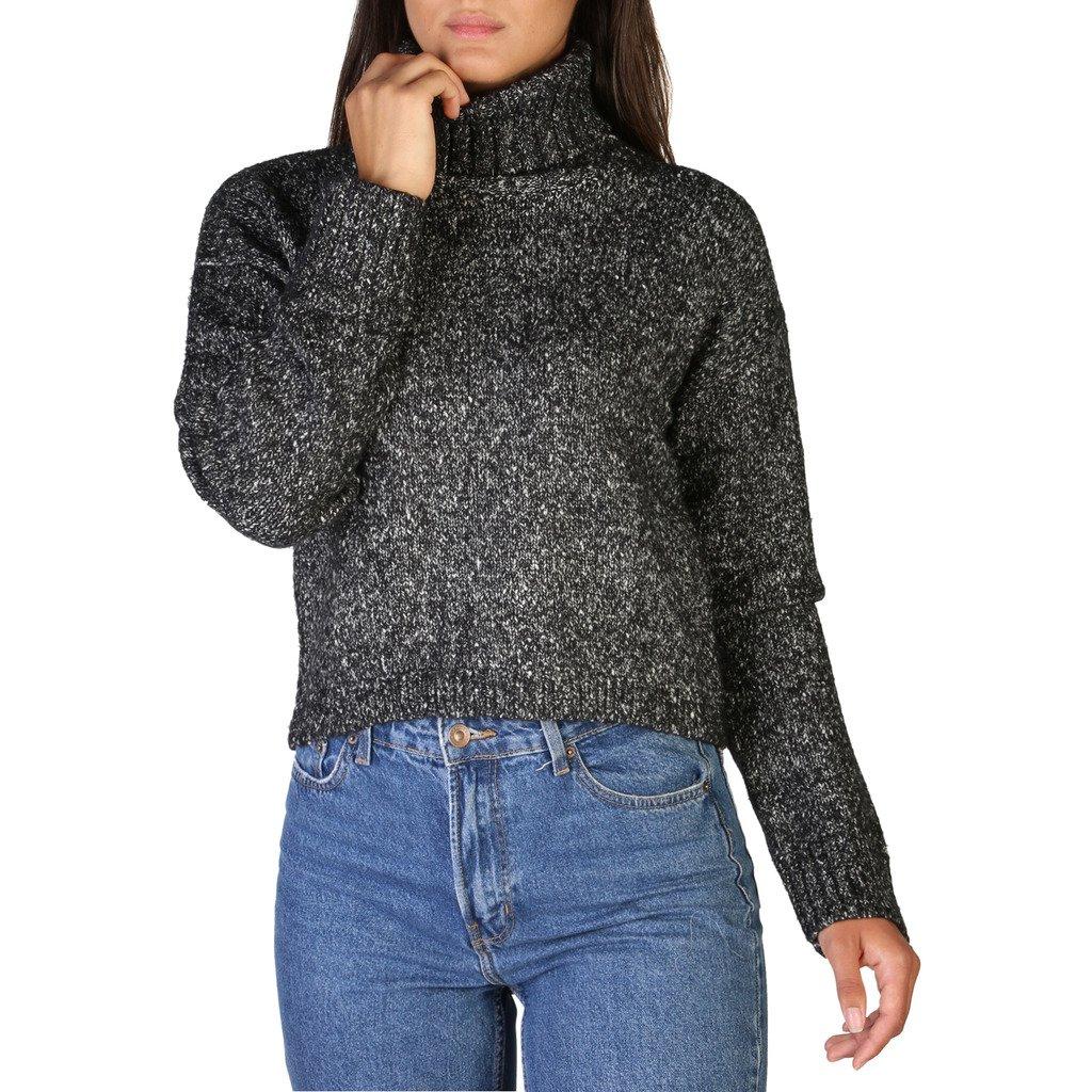 Calvin Klein Women's Sweater Black J20J206110 - black S