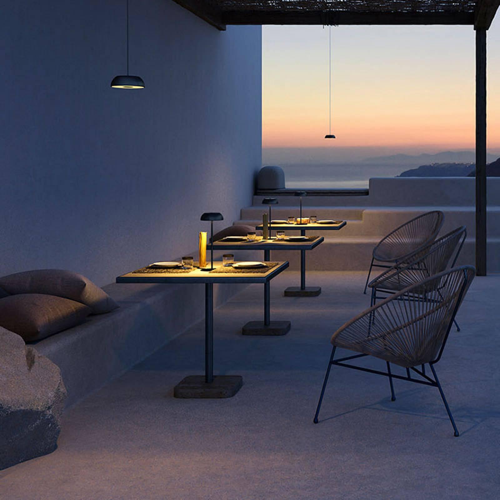 Axolight Float LED-designer-bordlampe, svart