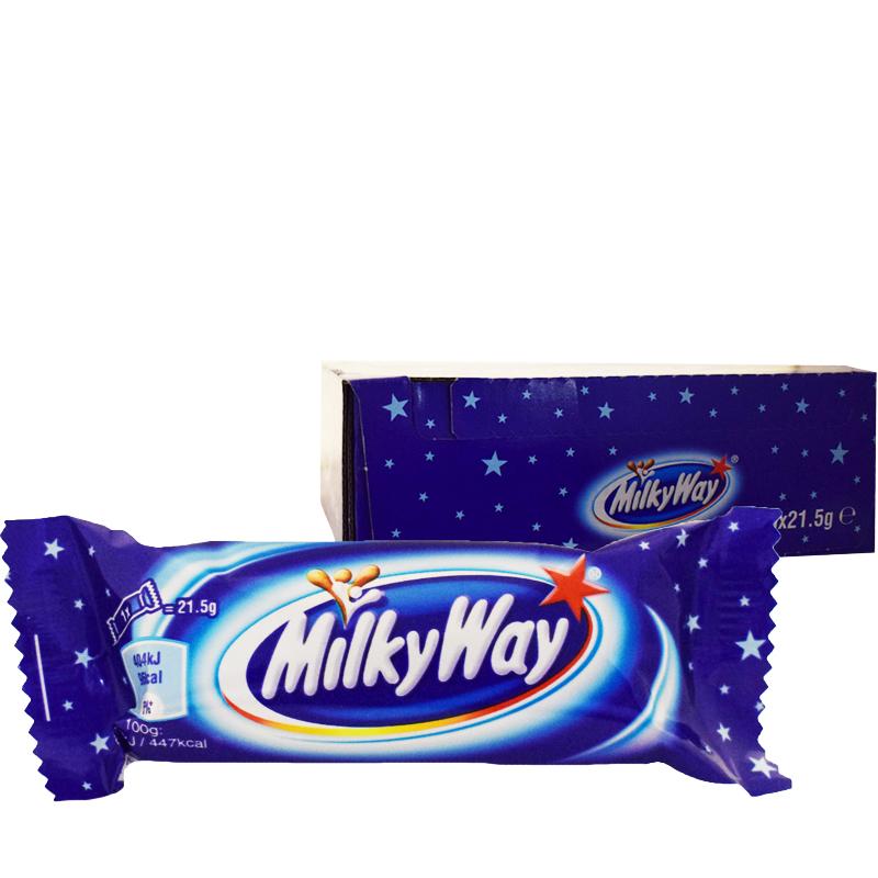 "Hel Låda Godis ""Milky Way"" 30 x 21,5g - 33% rabatt"