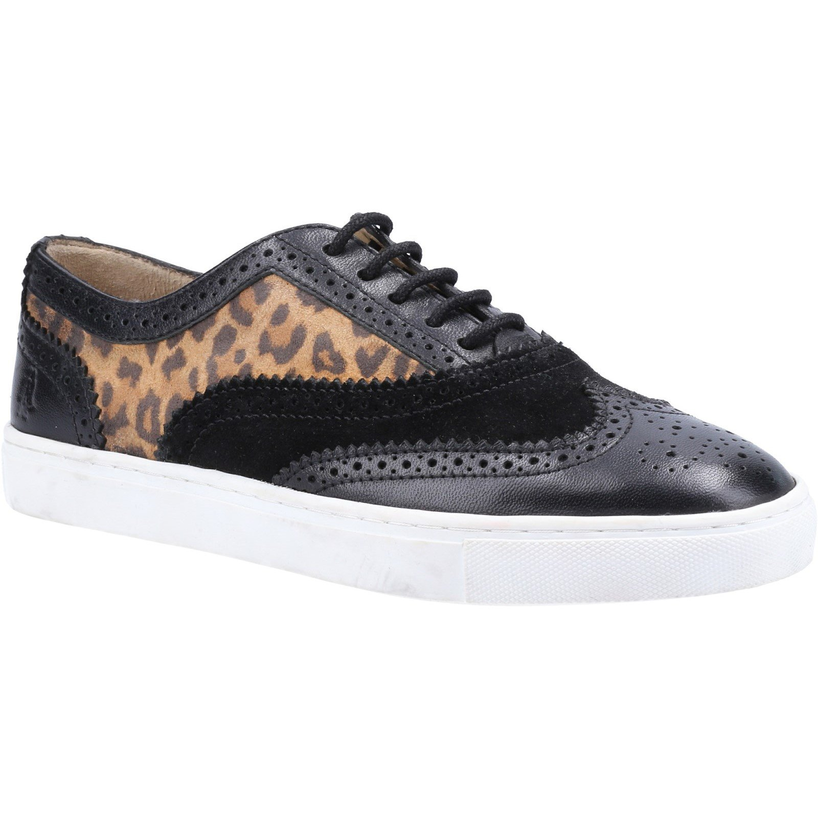 Hush Puppies Women's Tammy Trainer Various Colours 32847 - Leopard 8