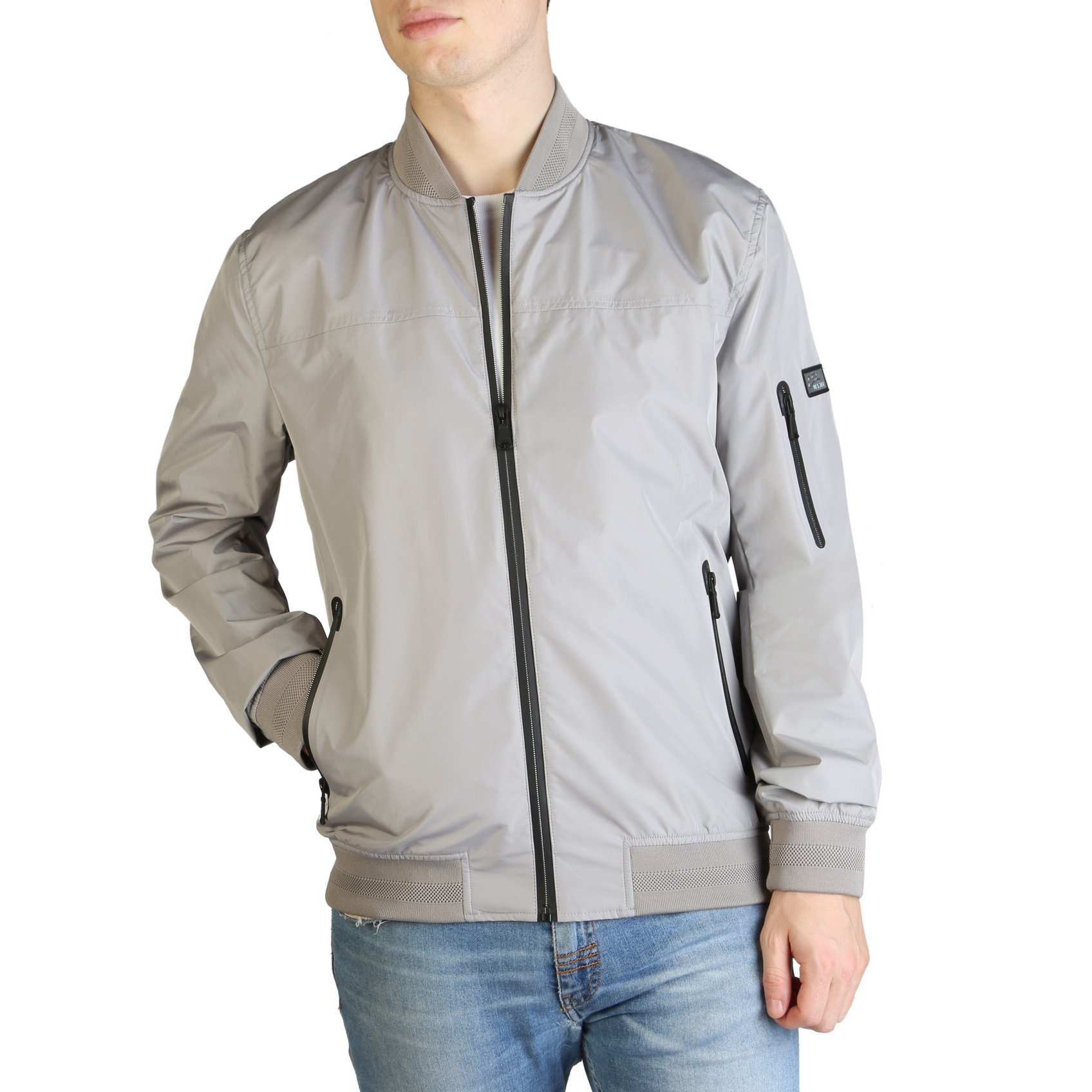 Yes Zee Men's Jacket Various Colours J561_NA00 - grey S