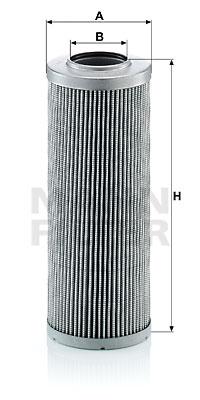 Hydrauliikkasuodatin, automaattivaihteisto MANN-FILTER HD 846