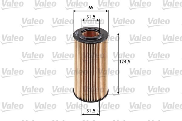 Öljynsuodatin VALEO 586541