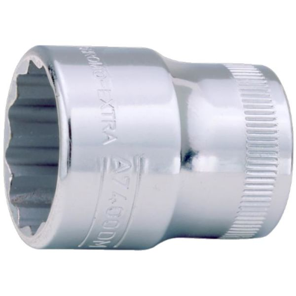 """Bahco A7400DZ-3/4 Tolvkantpipe 3/8"""", tomme 3/4"""""""