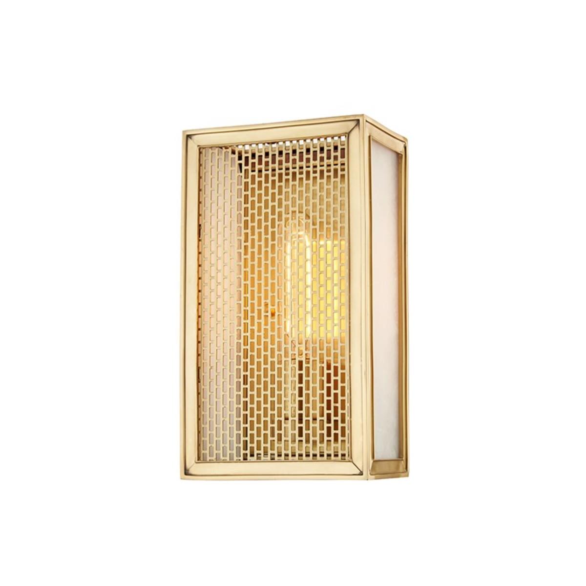 Hudson Valley | Ashford Wall Light | Aged Brass