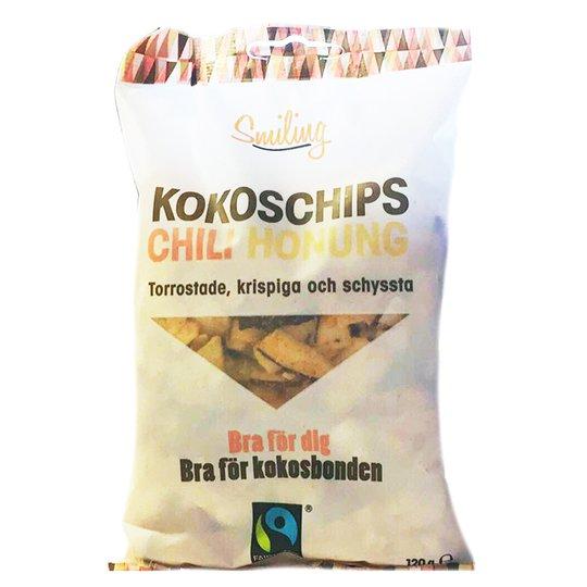 """Kokoschips """"Chili & Honung"""" 120g - 50% rabatt"""