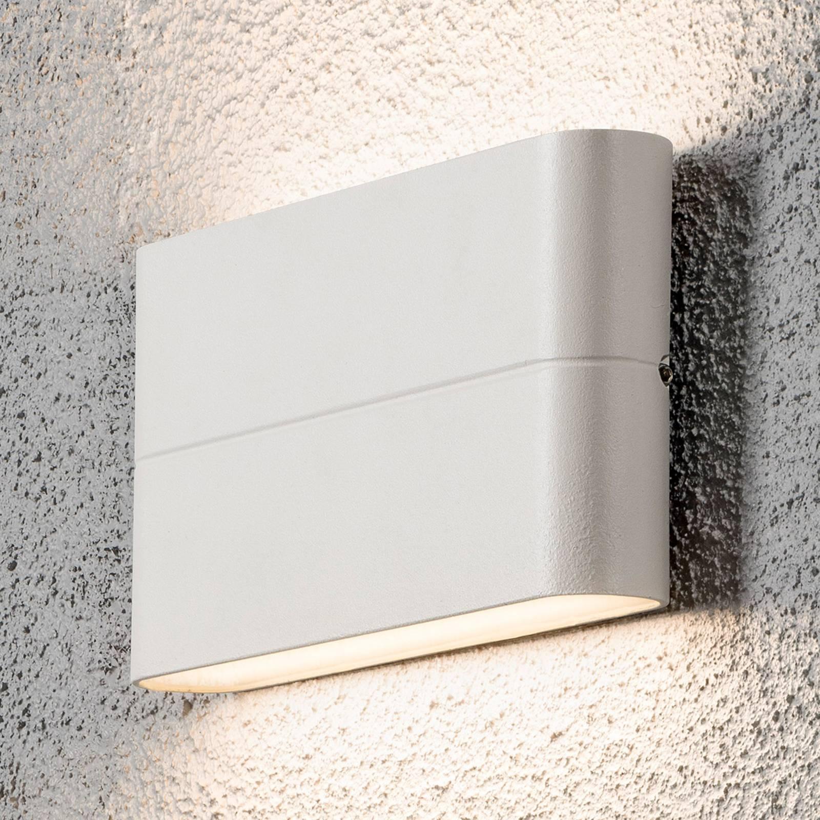LED-ulkoseinälamppu Chieri 17 cm valkoinen