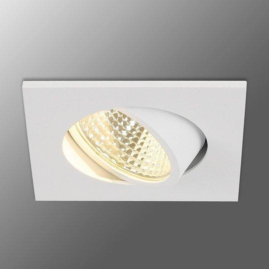 Valkoinen LED-uppovalaisin New Tria