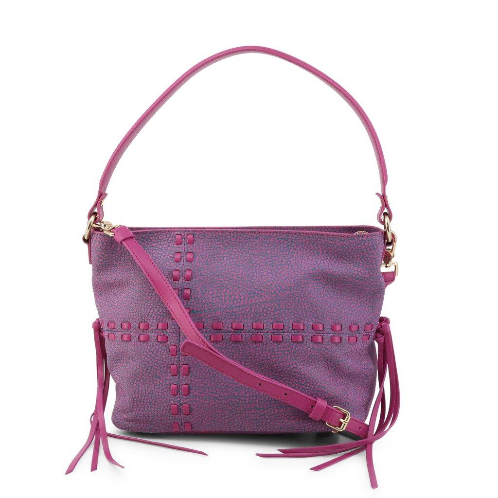 Borbonese Women's Shoulder Bag Violet 954325-648 - violet NOSIZE