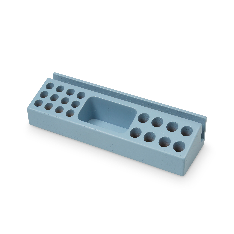 Nofred - Wooden Penholder - Blue