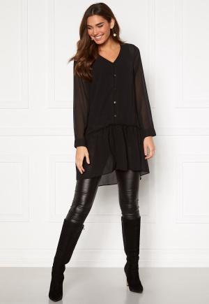 Happy Holly Maya woven tunic Black 32/34