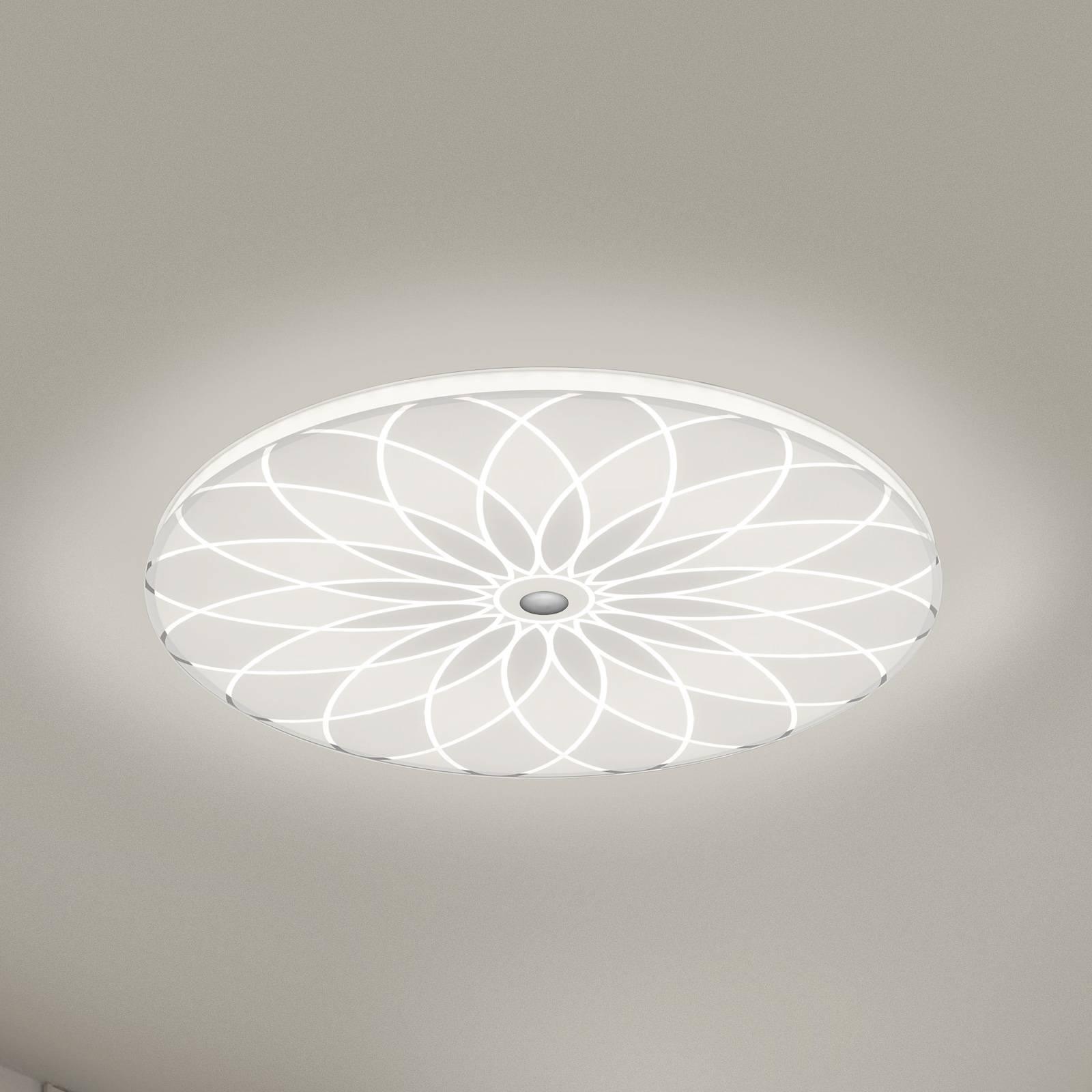 BANKAMP Mandala LED-kattovalaisin kukka, Ø 42 cm