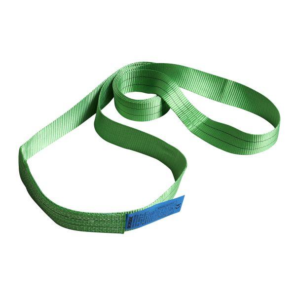 Ironside 100135 Båndslynge grønn, 2T 2 m