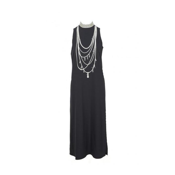Boutique Moschino Women's Dress Black 171675 - black 40