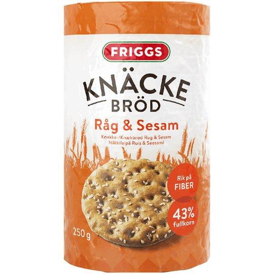 Knäckebröd Råg & Sesam - 33% rabatt