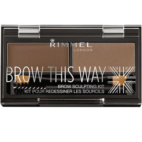 Brow This Way Eyebrow Powder Kit, Rimmel London Kulmakarvat