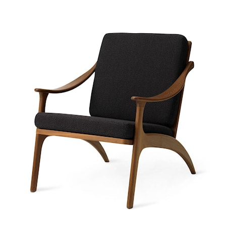 Lean Back Lounge Chair Mocca Teak