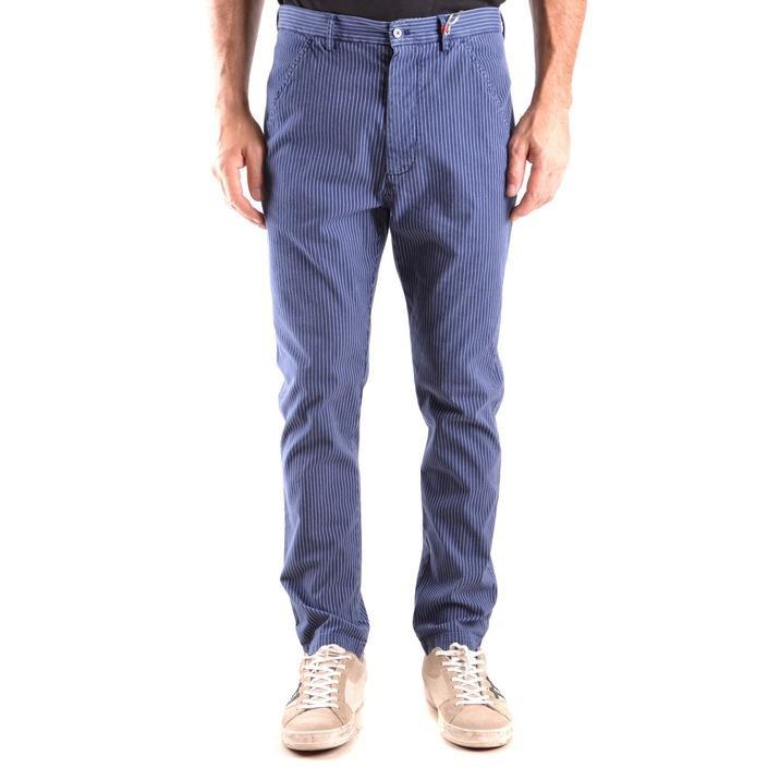 Daniele Alessandrini Men's Trouser Blue 163194 - blue 46
