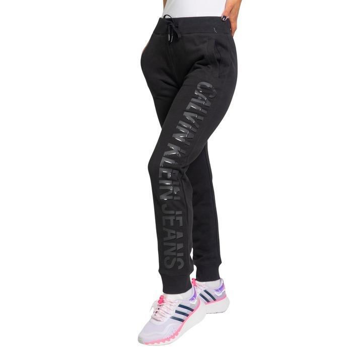 Calvin Klein Jeans Women's Trouser Black 221559 - black L
