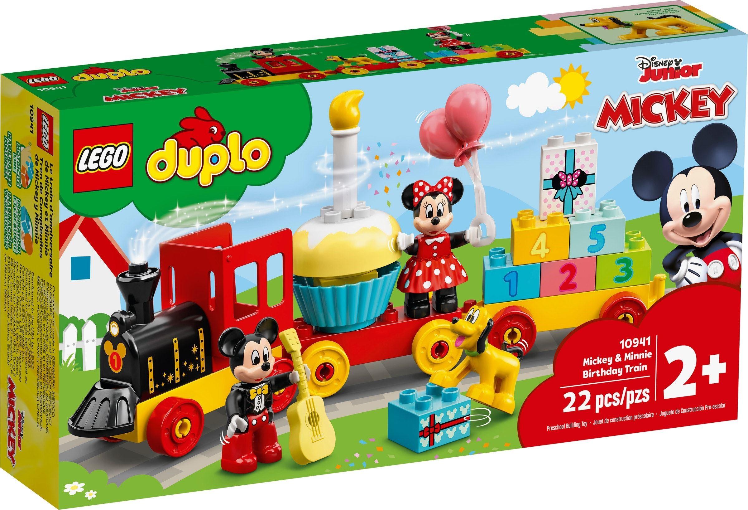 LEGO DUPLO - Mickey & Minnie Birthday Train (10941)