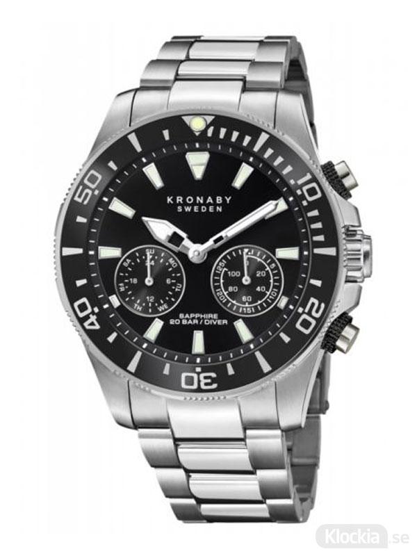 KRONABY Diver 45.5mm S3778/2 - Smartwatch