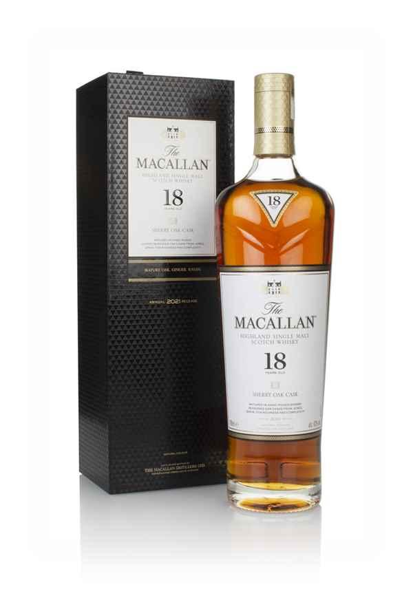 Macallan Sherry Oak 18 Years Old Single Malt Whisky 70cl