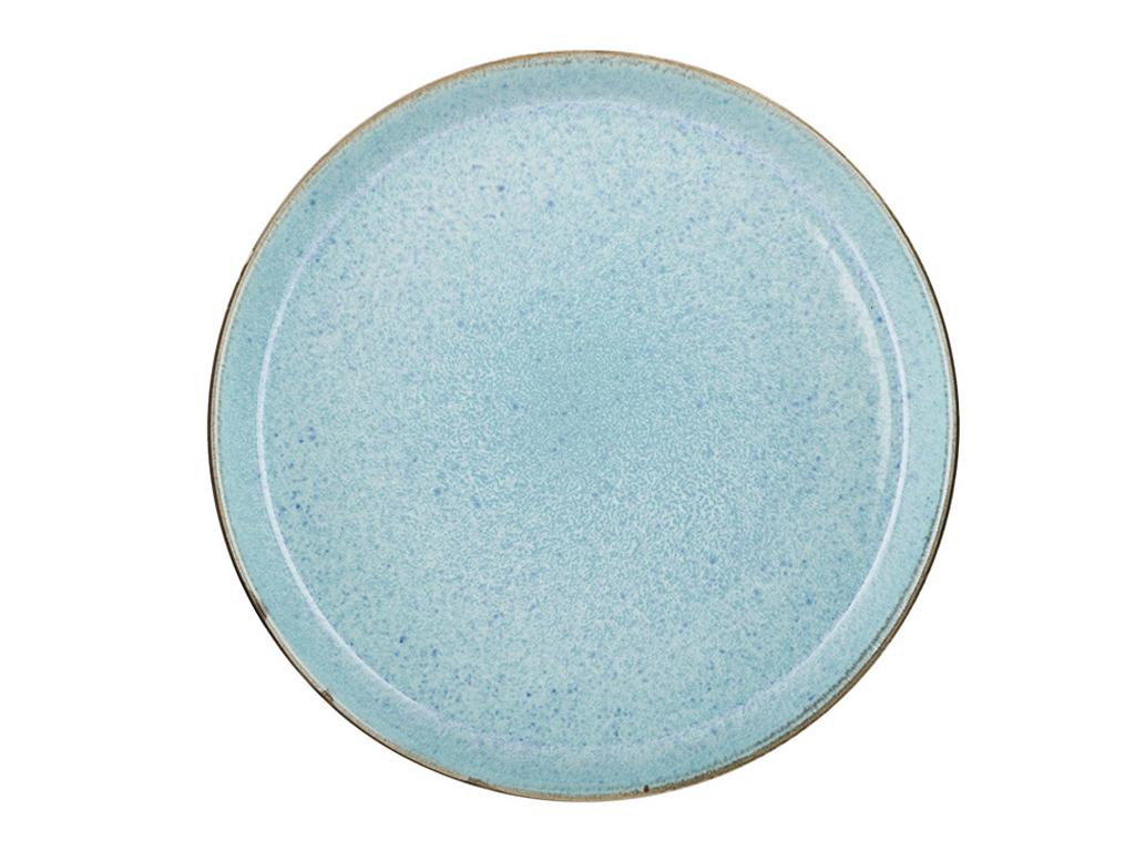 Bitz - 2 x Gastro Plate 27 cm - Grey/Ligth Blue
