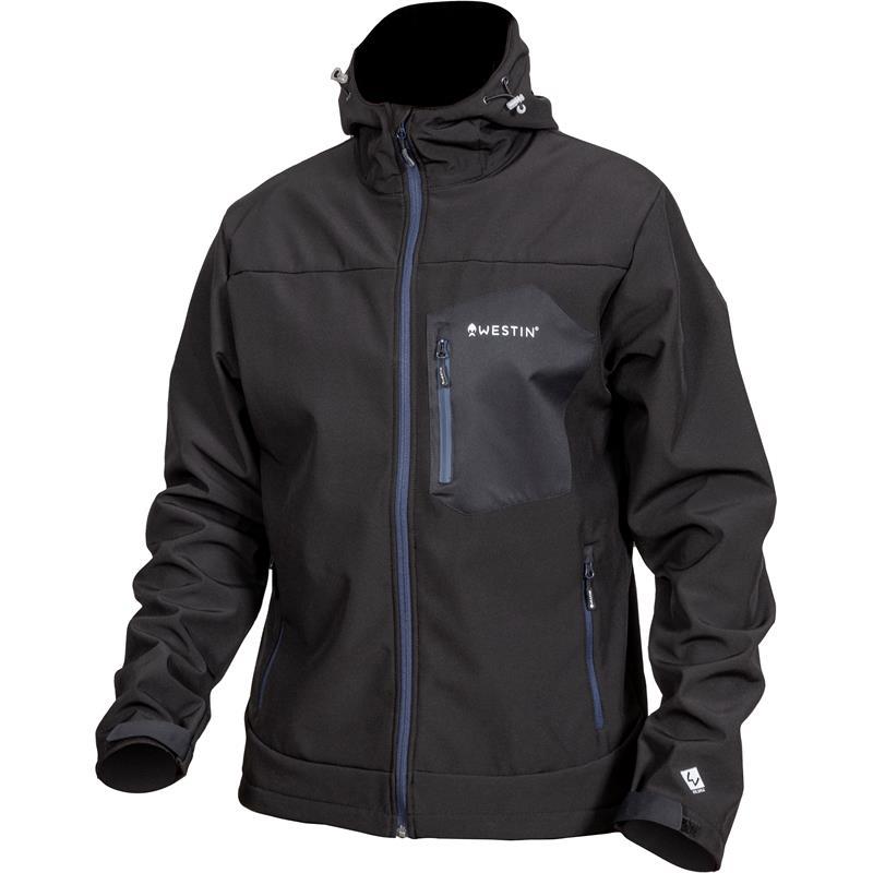 Westin W4 SuperDuty Softshell Jacket S Seal Black