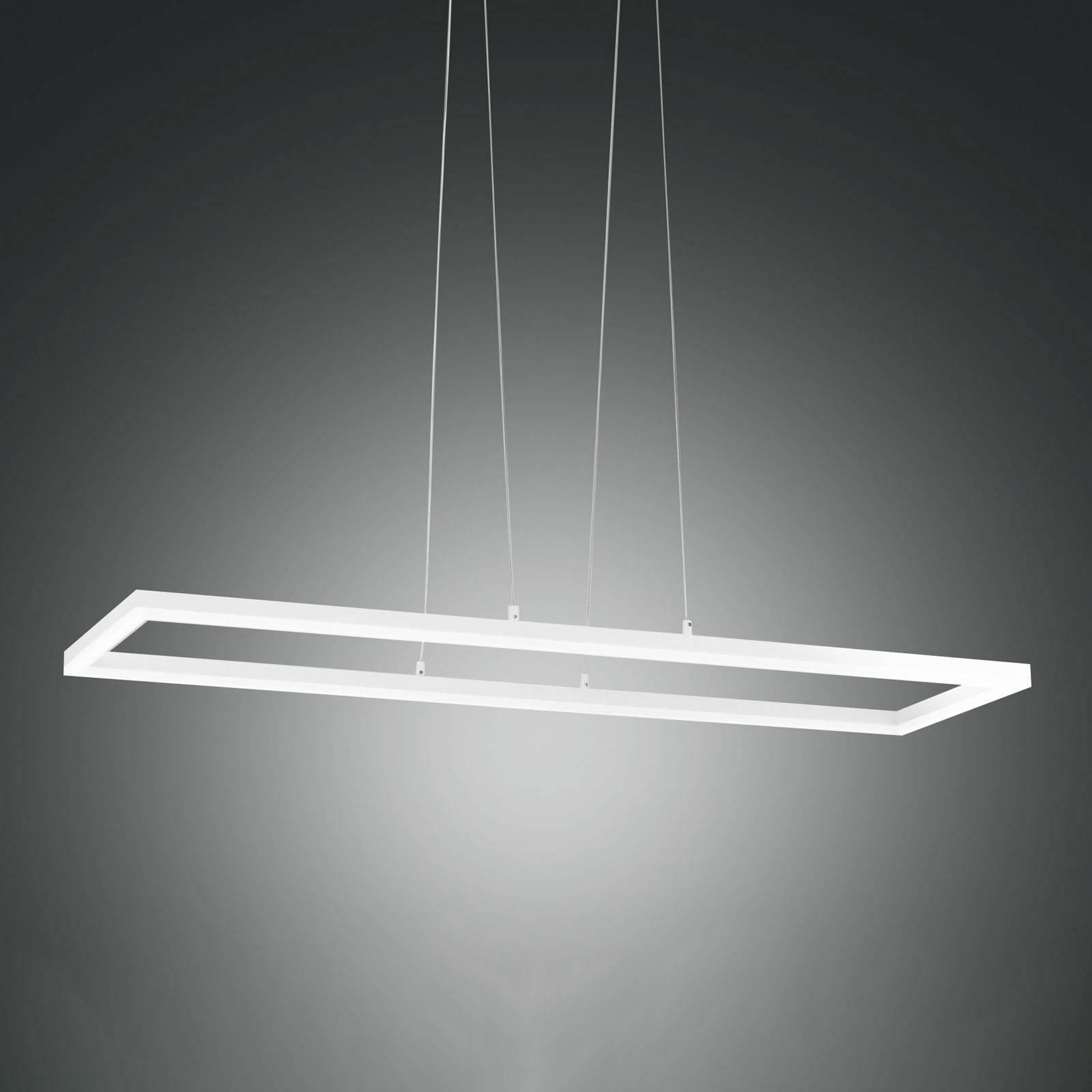 LED-riippuvalaisin Bard, 92x32 cm valkoinen