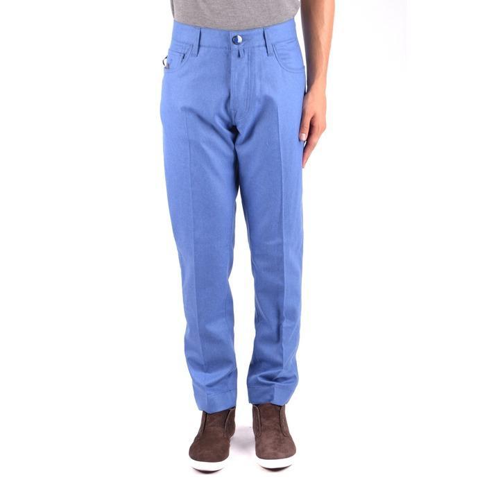 Jacob Cohen Men's Trouser Blue 163643 - blue 33
