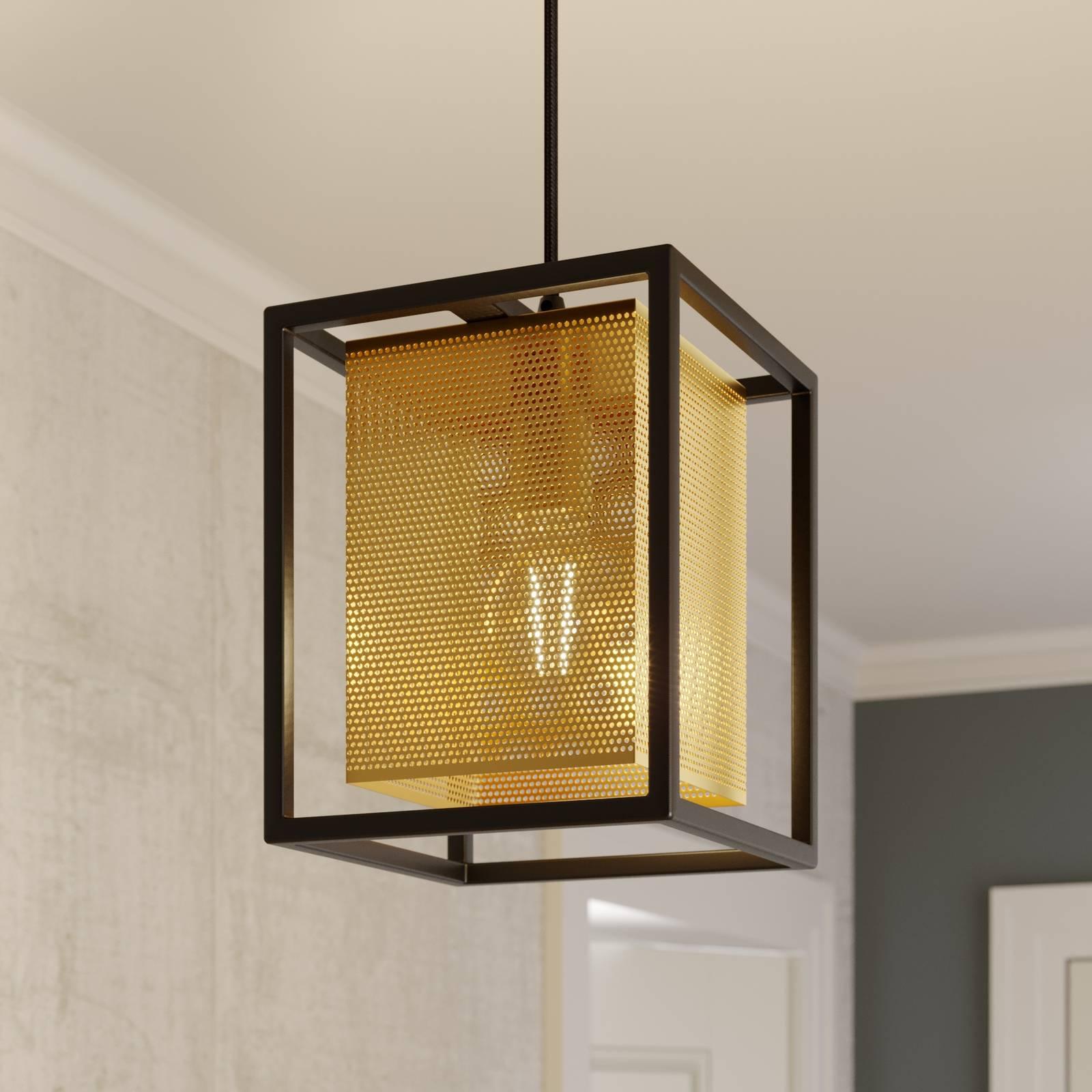 Lindby Daiana -riippuvalo kennokuviolla, 1-lamp.