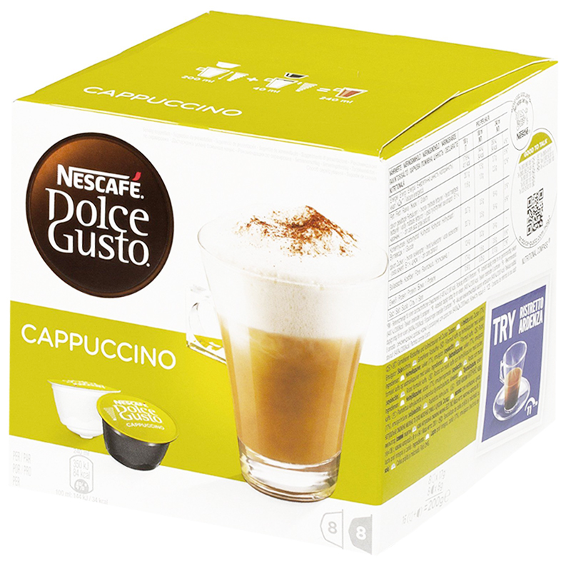 "Kaffekapslar ""Cappuccino"" 200g - 52% rabatt"