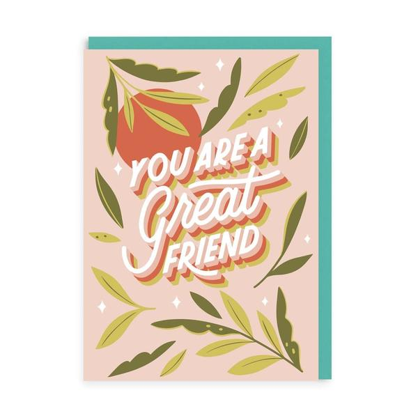 A Great Friend Greeting Card