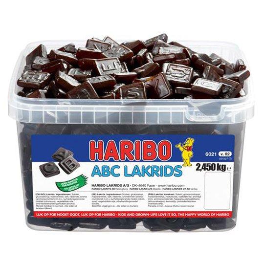 """Karkkilaatikko """"ABC-Lakdris"""" 2,45kg - 20% alennus"""